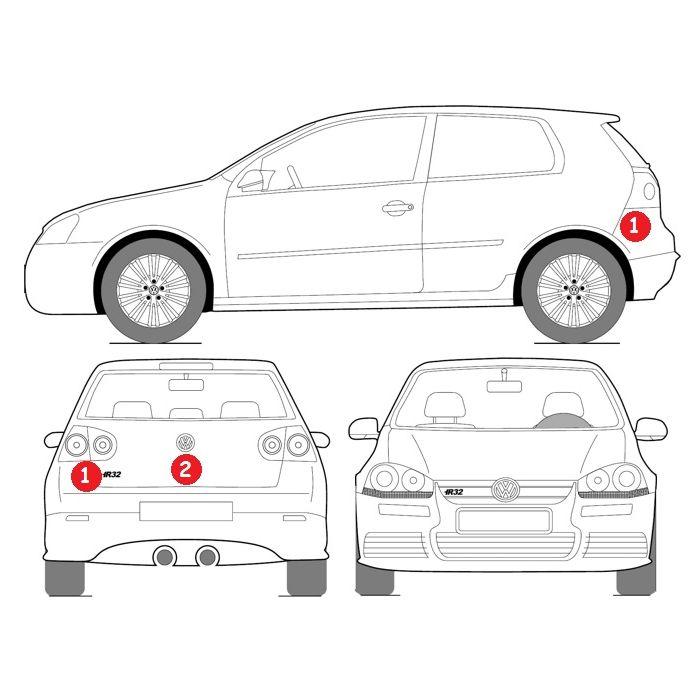 Volkswagen Car Spray Paint